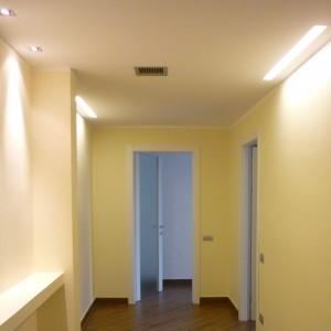 Illuminazione appartamento - Novara