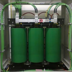 Collegamenti nuova cella di trasformazione MT-BT Tessitura Colombo - Busto Garolfo