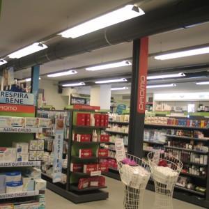 Illuminazione Farmacia Preti - Nerviano