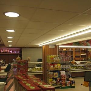 Illuminazione reparto di gastronomia Supermercato