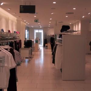 Illuminazione negozio Benetton - Mosca (RU)