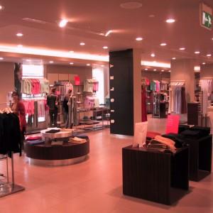 Illuminazione negozio Sisley - Mosca (RU)