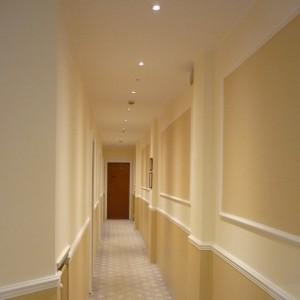 Illuminazione corridoio Hotel Garda - Milano